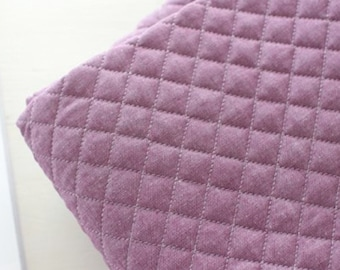 """Quilted Cotton Fabric BH Antique Purple B2221 By The Yard 44"""" laceking2013"""