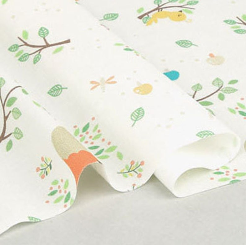 Cotton Fabric Animal Fabric by the Yard 44 Wide SY dreamhigh