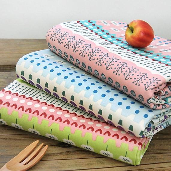 1y cotton Fabric Sewing 110cm*90cm Cozy fashion red flower