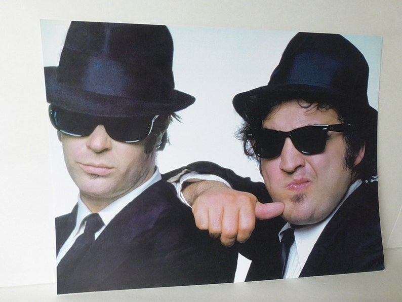 Blues Brothers Color  11 x 14 Photo Image