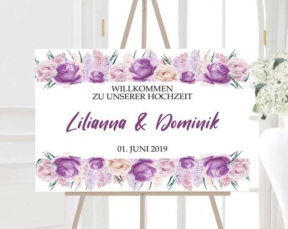 Hochzeitsschild, Willkommen zur Hochzeit Schild, Willkommensschild, Hochzeitsdeko, Poster, Leinwand