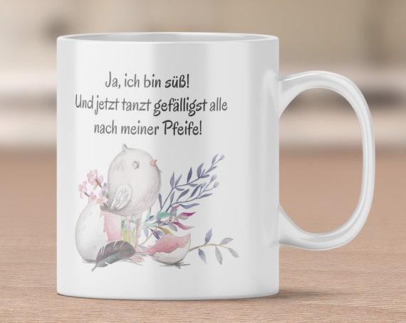 Küken Tasse, Kaffeebecher, Spruch Tasse, Kaffeetasse, Teetasse, Becher