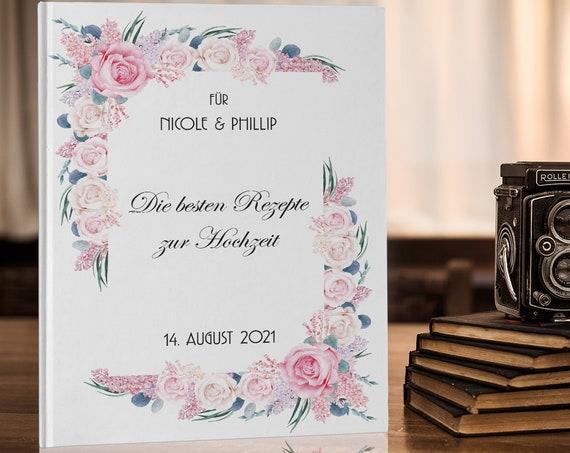 Rezeptbuch, Hochzeitsgeschenk, Rezeptbuch zum Selberschreiben, Brautpaar Geschenk, Hochzeit