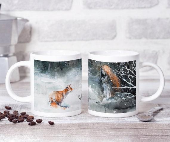 Winter Tasse, Kaffeebecher, Winter ist Magie, Kaffeetasse, Geschenkidee, Teetasse, Weihnachtstasse