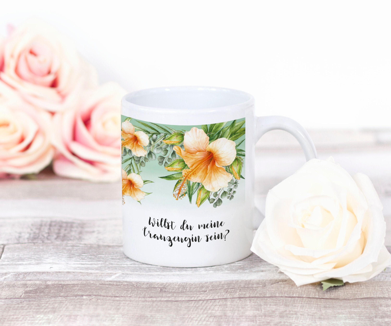 Trauzeugin Tasse Kaffeebecher Trauzeugin Geschenk