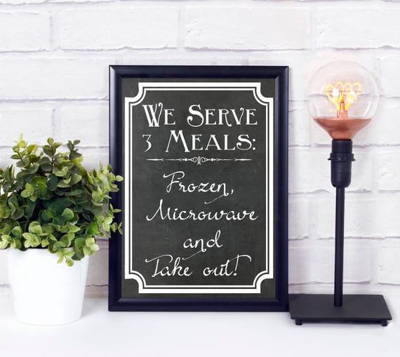 Küche Digital Print, Poster, Wandkunst, Tafel Schild, Sofort Download, Wohndekor, Digitaldruck, druckbares Geschenk, Küchen Dekor
