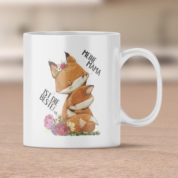Mama ist die Beste Tasse, Tasse Geschenk, Keramiktasse, Kaffeebecher, Teetasse