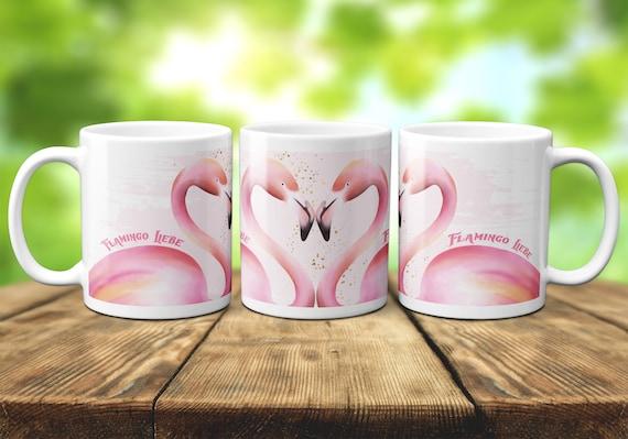 Tasse Flamingo Liebe, Flamingo Kaffeebecher, Geschenk, Kaffeetasse, Teetasse, Geschenkidee, Schwester, beste Freunde