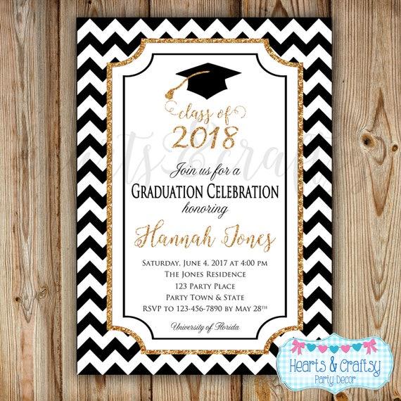 graduation party invitation college graduation invitation high