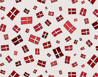 DENMARK small flag, 0.5 meters cotton fabric,