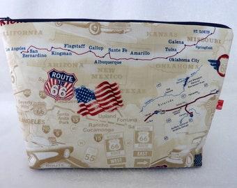 9d1b0495c1 Route 66 zipper bag