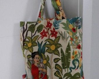 c4e1b1006 Good Bye plastic bag , Frida Kahlo, two in ONE