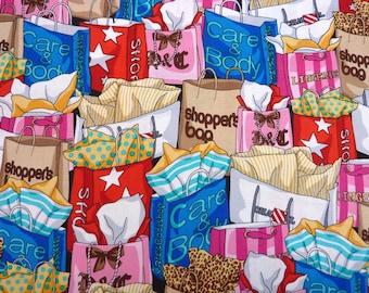 Shop till you drop, Benartex, Fabric