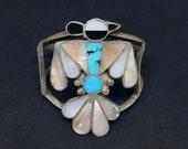 Zuni Bird Cuff Bracelet - Vintage