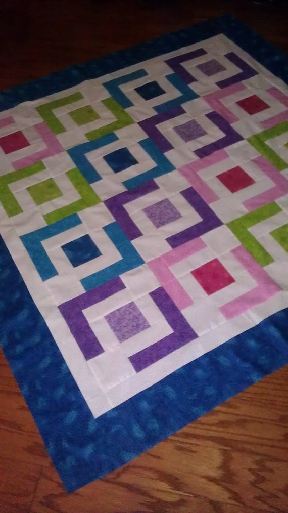 Easy Baby Quilt Pattern Beginner Quilt Pattern Jaded Chain Etsy Gorgeous Easy Baby Quilt Patterns