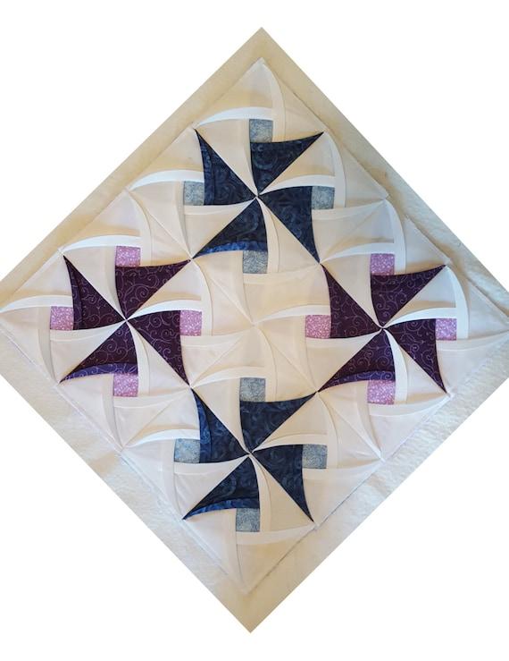 Pinwheel Surprise Quilt Block Pattern Pinwheel Quilt Pattern Etsy