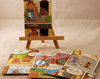 Comic book,journaling pocket, tag, journal spots,