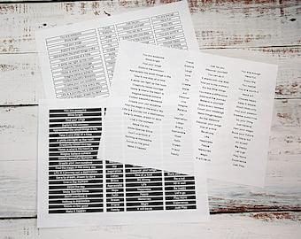 Digital encouragement word sheets, Encouragement words, Positive phrase