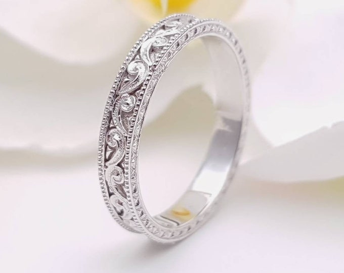 2.5mm wide Solid gold wedding ring - wedding band - promise ring