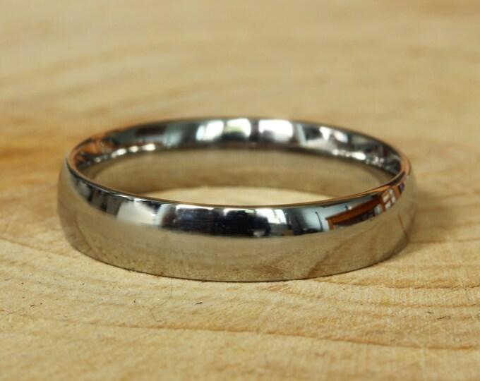 4mm Wide Comfort Fit / Court Shape 18k gold filled Plain band Wedding Ring