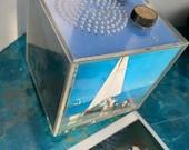 60 s 70 s Photo Cube Transistor Radio Hong Kong