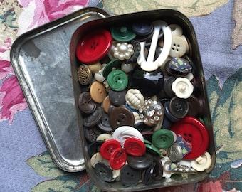 Grandmas Vintage Buttons =15oz