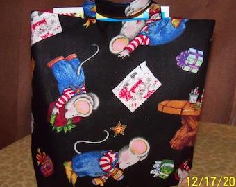 Crayon and Activity Bag / Kids Xmas Goody Bag Full of Presents/ Gift Bag / Xmas Bag / Kids Christmas Bag / Childs Bag