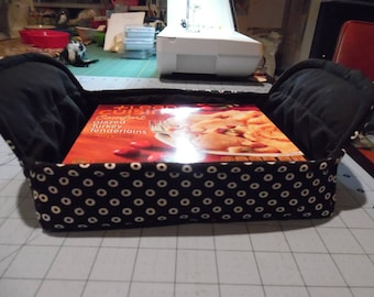 Reversible Microwave Cozy/ Rectangle Microwave Cozy / Microwave Pot Holder / Casserole Cozy