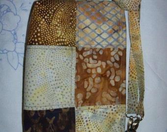 3 in 1 Batik Cross Body / SHoulder / Hand Purse
