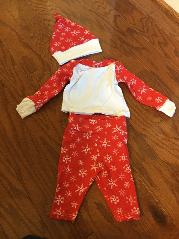 image 0 - Preemie Outfit Baby's 1st Christmas Outfit Holiday Baby Etsy