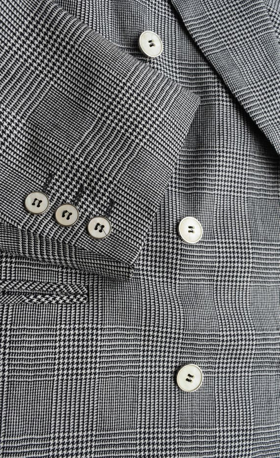 breast Wool coat Suit gents Sport Germany in blazer jacket Formal Made Vintage Mens blazer blazer Men Westbury Checked Double UqfwdU