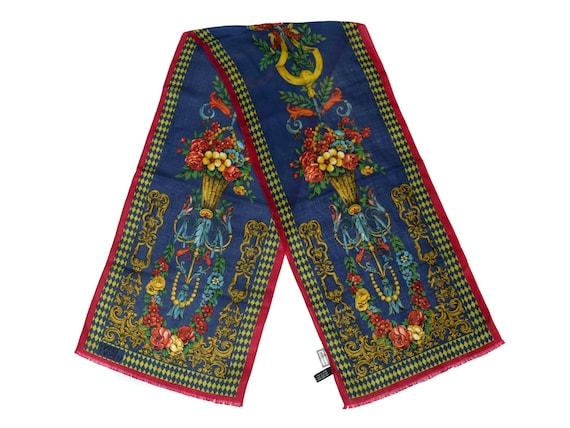 Homme foulard cache-nez   Gianni Versace   opéra Foulard     Etsy d38fc5f1001