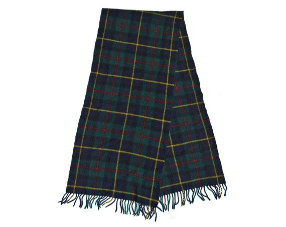 Vintage Muffler Scarf Foulard Wool Winter Scarf Wa