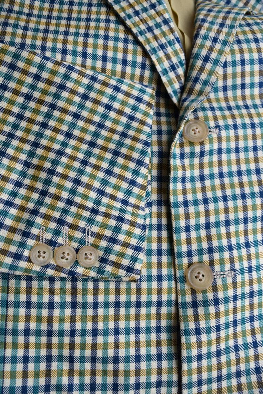 Corneliani Men Blazer Sport coat Mens Vintage Formal blazer Suit blazer SILK and WOOL Made in Italy