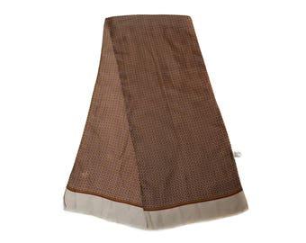 Pure SILK Men Scarf Muffler Opera Foulard Men's Vintage Oblong scarf Tuxedo Man's scarf