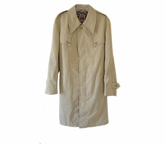 Vintage homme Trenchcoat   hommes manteau mac   Made in France   Etsy 2dbee1092cdd