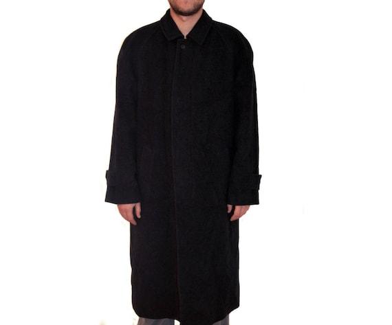 Vintage Herren Wollmantel lang Wolle Kaschmir Mantel Vintage Herren Mantel Männer Woll Trenchcoat Classic wolle Mantel Männer Mantel