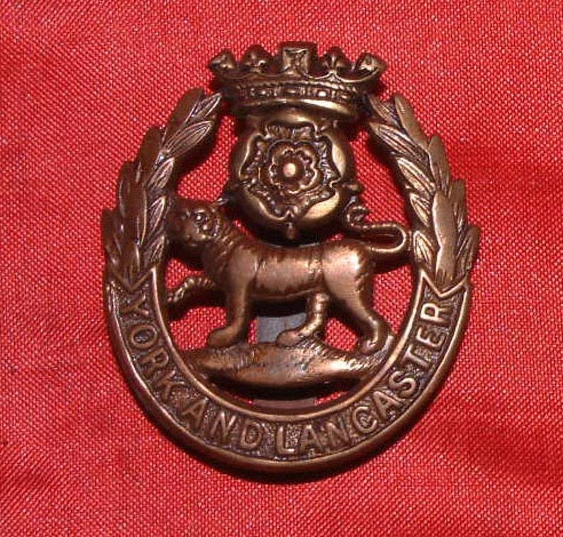 0f31eeb8473ea York and Lancaster Regiment Cap Badge