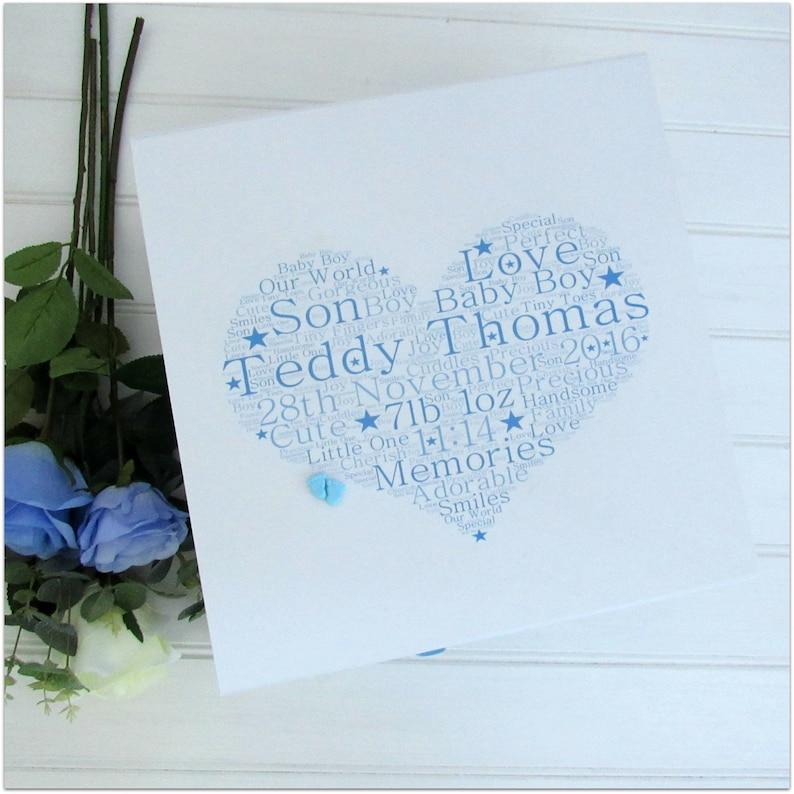Extra Large Personalised Keepsake Box New Baby Memory Box.Pink or Blue Boy Girl