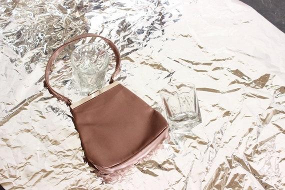 90s Furla Mini Champagne Handbag