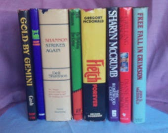FINAL CLEARANCE - Lot of Eight Hardback Books By Various Thriller/Mystery Authors