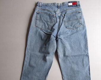fca50b46 Vintage 90s Mens Tommy Hilfiger Jeans 34x30 Denim