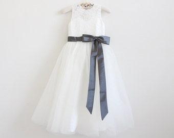 12 Made in USA Girls Winter Christmas Dress Coat Jacket Ivory//Black   Sz