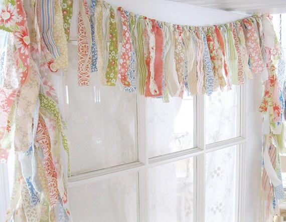 Lappen Volant Boho Volant Gypsy Vorhang | Etsy