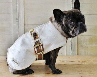 Fleur de Lis - Couture Dog Coat by JoeysCoat