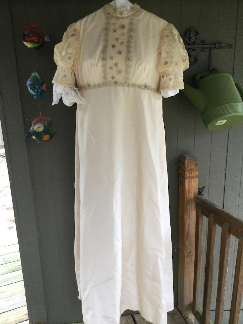 Vintage 60s Wedding Dress