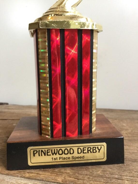 Carreras automovilismo Derby trofeo 1er lugar