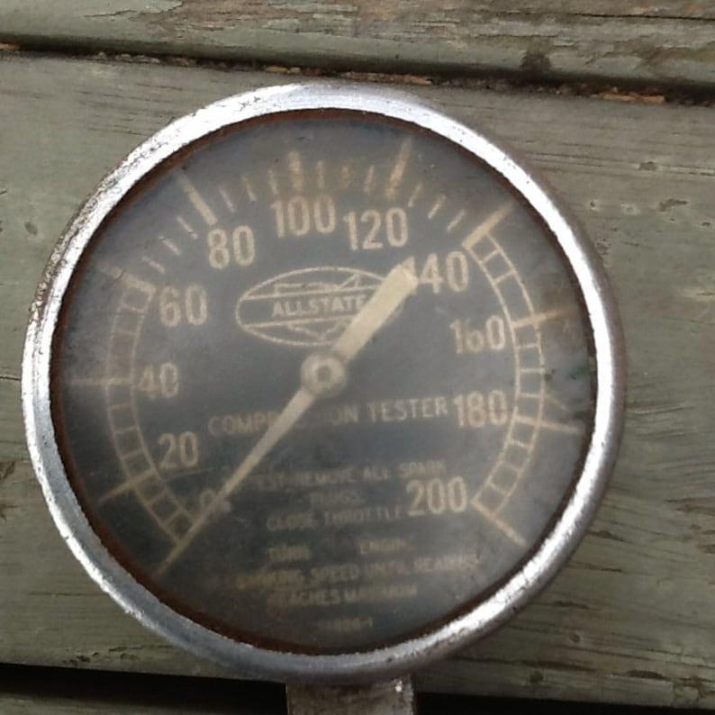 Allstate Compression Tester Gauge