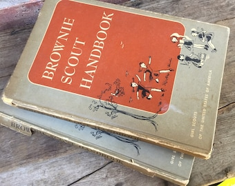 1950s Brownie Scout Handbook Girl Scout