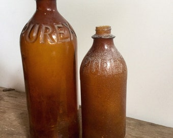 Brown Purex Bottles
